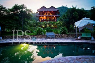 Exclusive Villa With Pool & Pepper Farm in Kep for Sale
