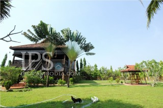3 Bedrooms Traditional House for Rent - Siem Reap Angkor