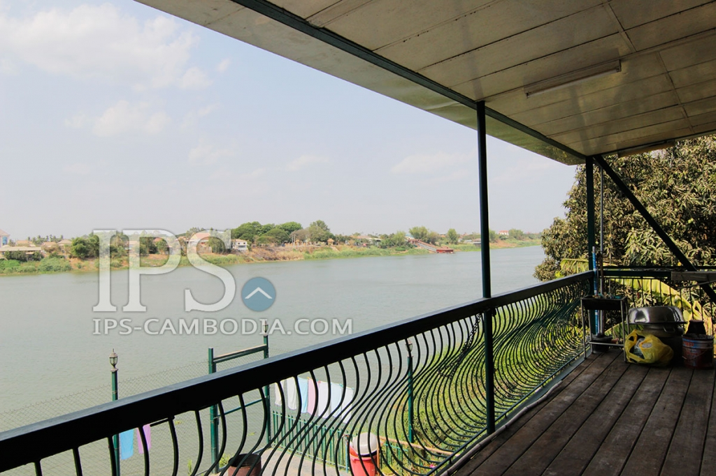 Amazing Riverside House, Marina and Engineering Workshop For Sale in Takmao