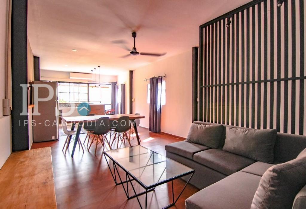 3 Bedroom Duplex Apartment for Rent - Tonle Bassac