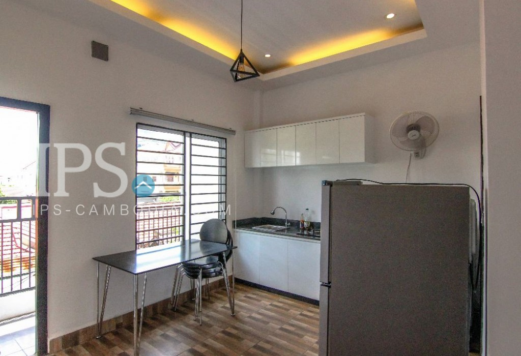 Boeung Trabek  Apartment For Rent - 1 Bedroom