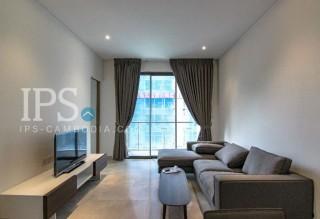 1 Bedroom Apartment + Study for Rent - Tonle Bassac