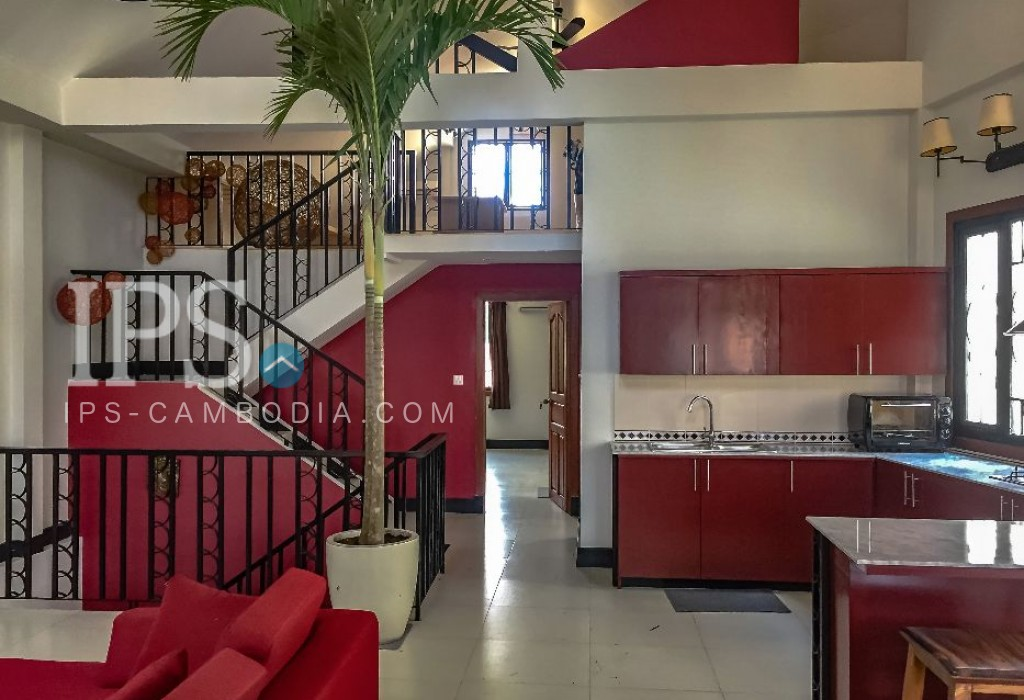 4 Bedroom Apartment for Rent - Daun Penh