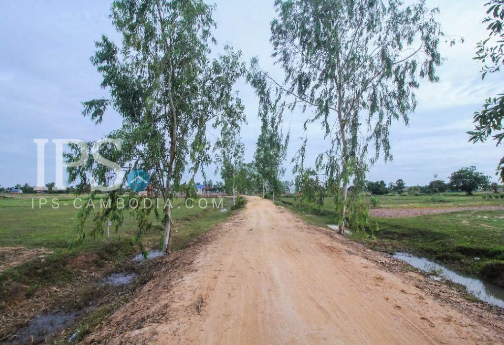 Land for Sale in Siem Reap- Khnar VIllage
