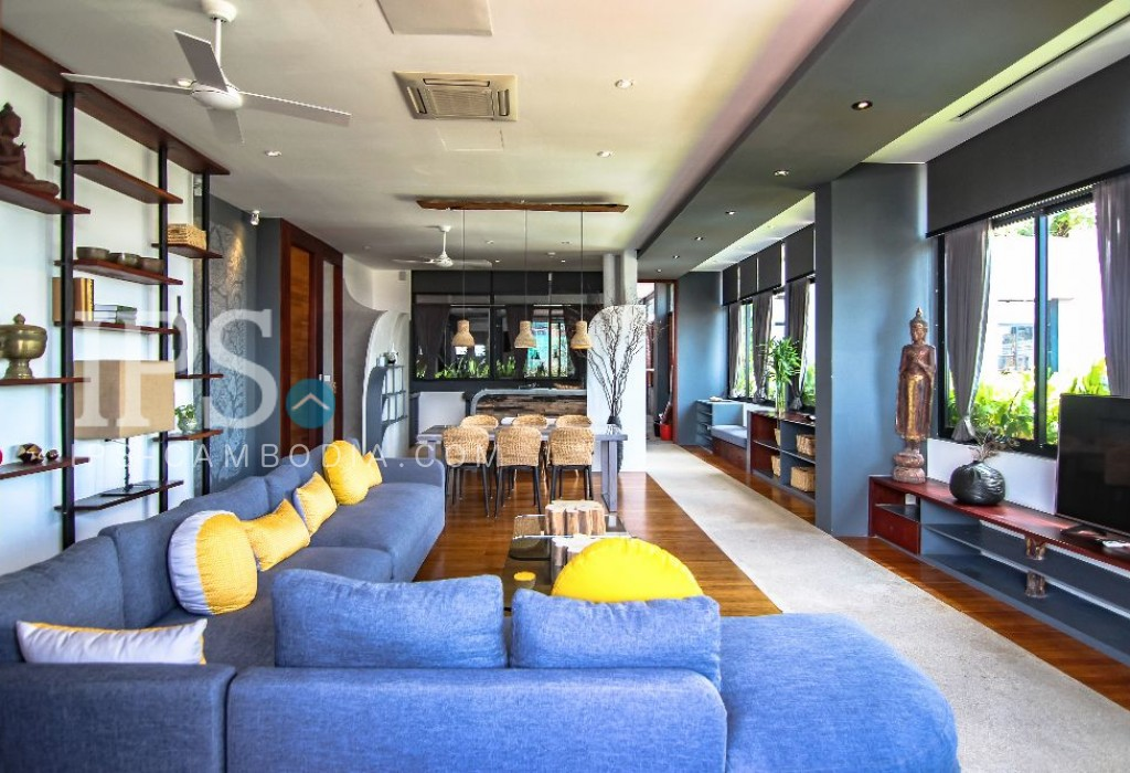 2 Bedroom Serviced Apartment For Rent in Tonle Bassac, Phnom Penh