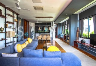Serviced Apartment for Rent Tonle Bassac - 2 Bedrooms
