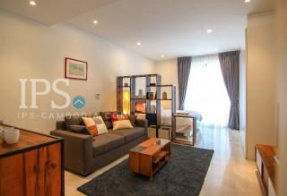 Serviced Studio Apartment For Rent - Tonle Bassac