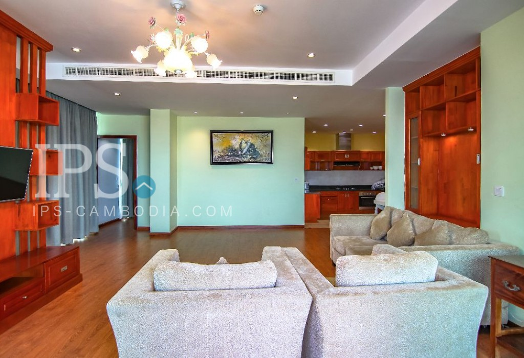 3 Bedroom Serviced Apartment for Rent - Russian Market
