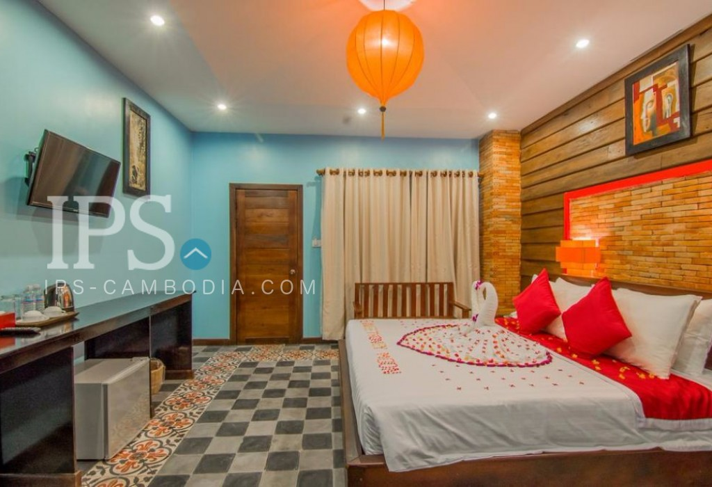 Boutique Hotel for Rent in Siem Reap - Wat Bo Area