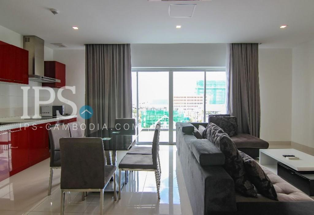 3 Bedroom Apartment For Rent - Chamkarmon, Phnom Penh