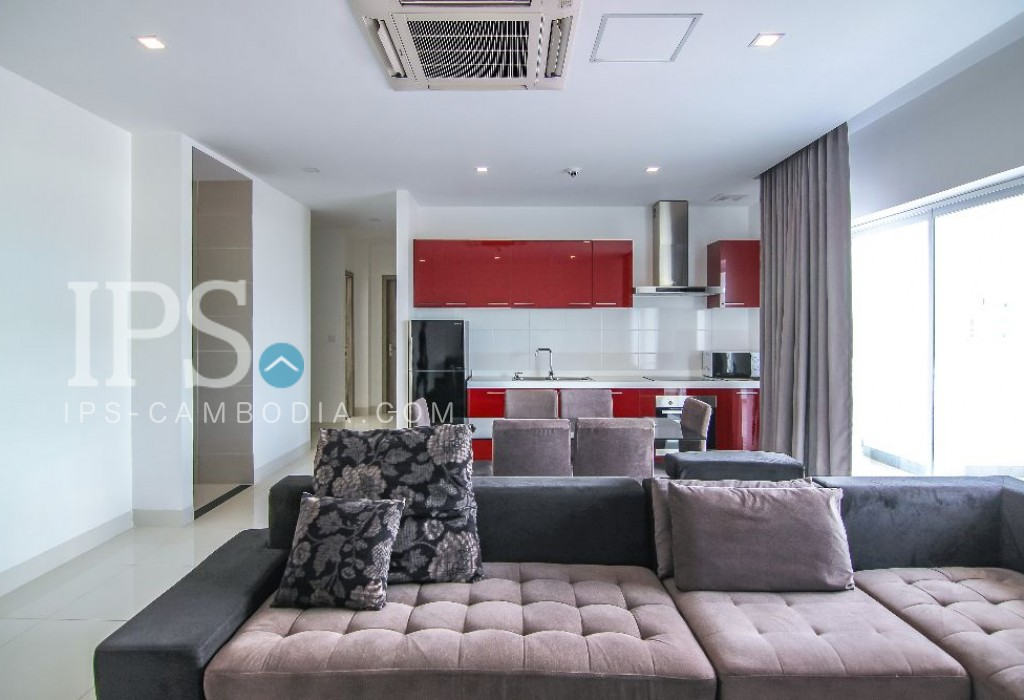 3 Bedroom Apartment For Rent near Russian Market, Phnom Penh