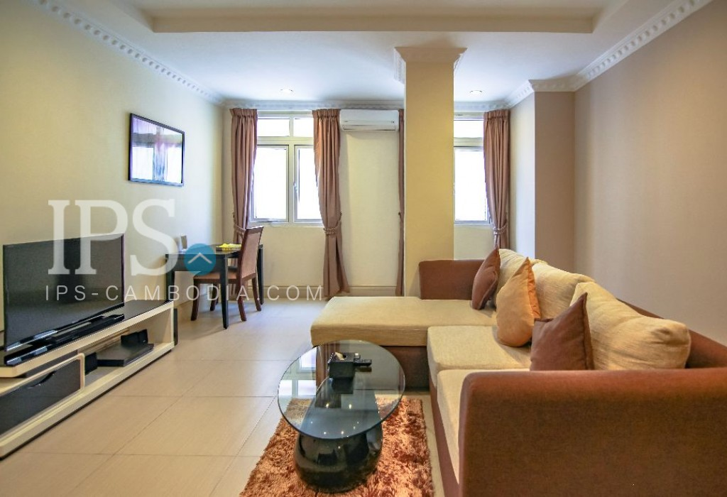1 Bedroom Serviced Apartment For Rent in Daun Penh- Phnom Penh