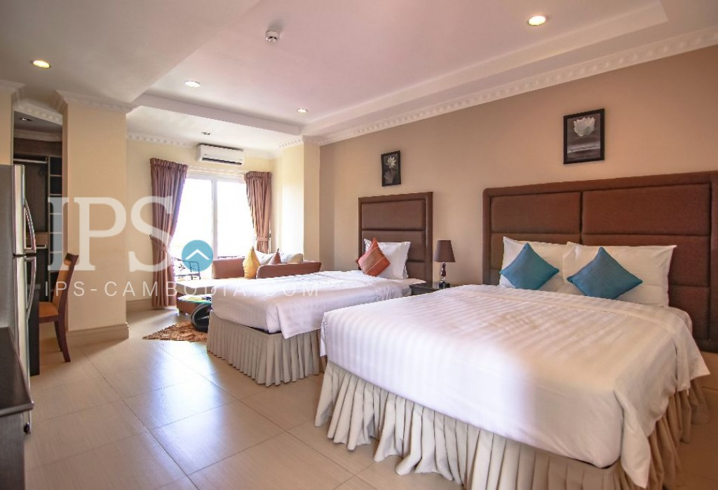 Studio Serviced Apartment For Rent in Daun Penh, Phnom Penh