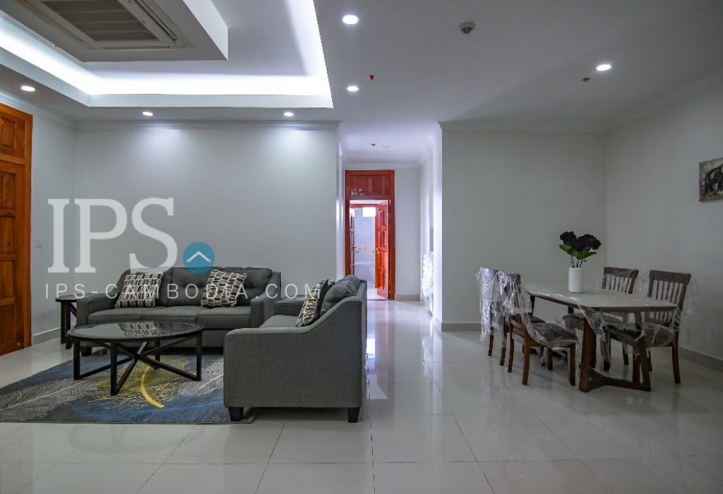2 Bedroom Serviced Apartment for Rent - BKK1