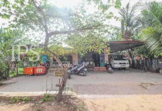 Land and House for Sale in Siem Reap- Wat Svay Area