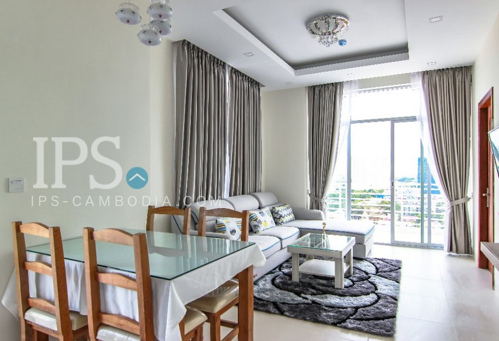 2 Bedroom Serviced Apartment For Rent - Tonle Bassac, Phnom Penh