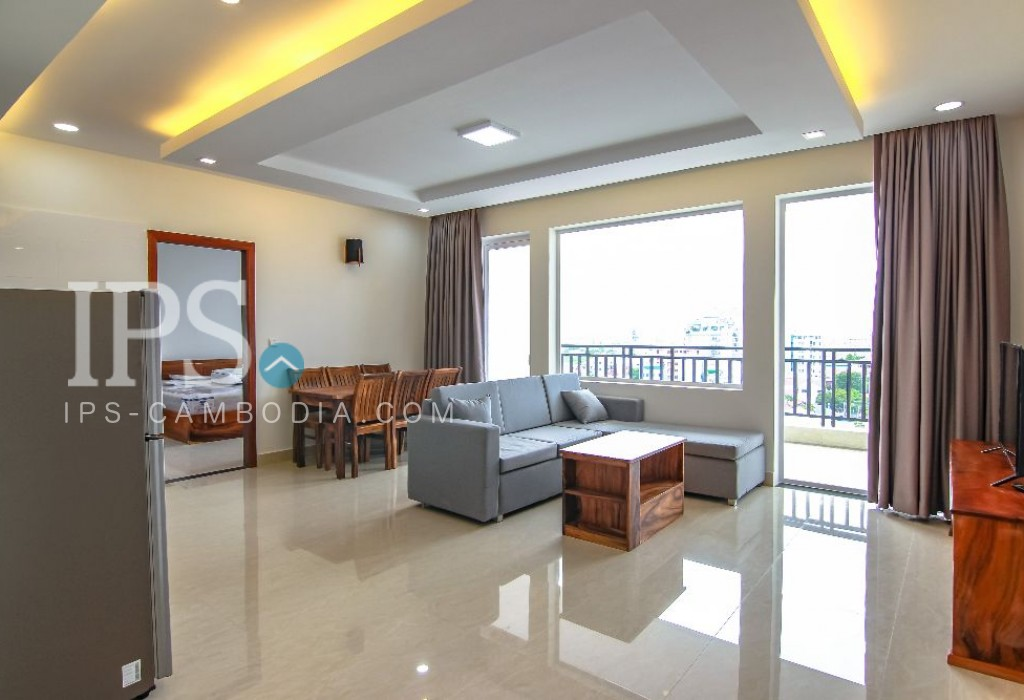 Big Balcony-2 Bedroom Apartment for Rent - Toul Tompong