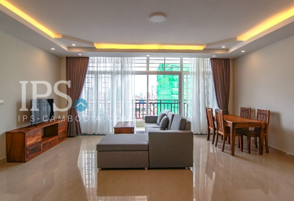 1 Bedroom Serviced Apartment for Rent - Toul Tumpong
