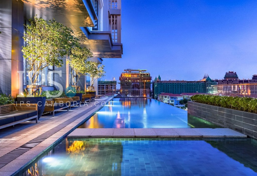 2 Bedroom Apartment for Rent - Tonle Bassac