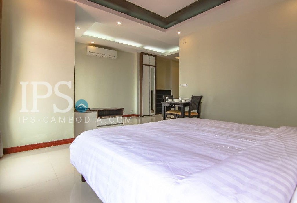 Studio Flat For Rent - Phsar Daeum Thkov, Phnom Penh
