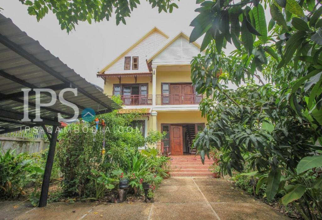 4 Bedroom Villa for Rent  Siem Reap - Slor Kram Area