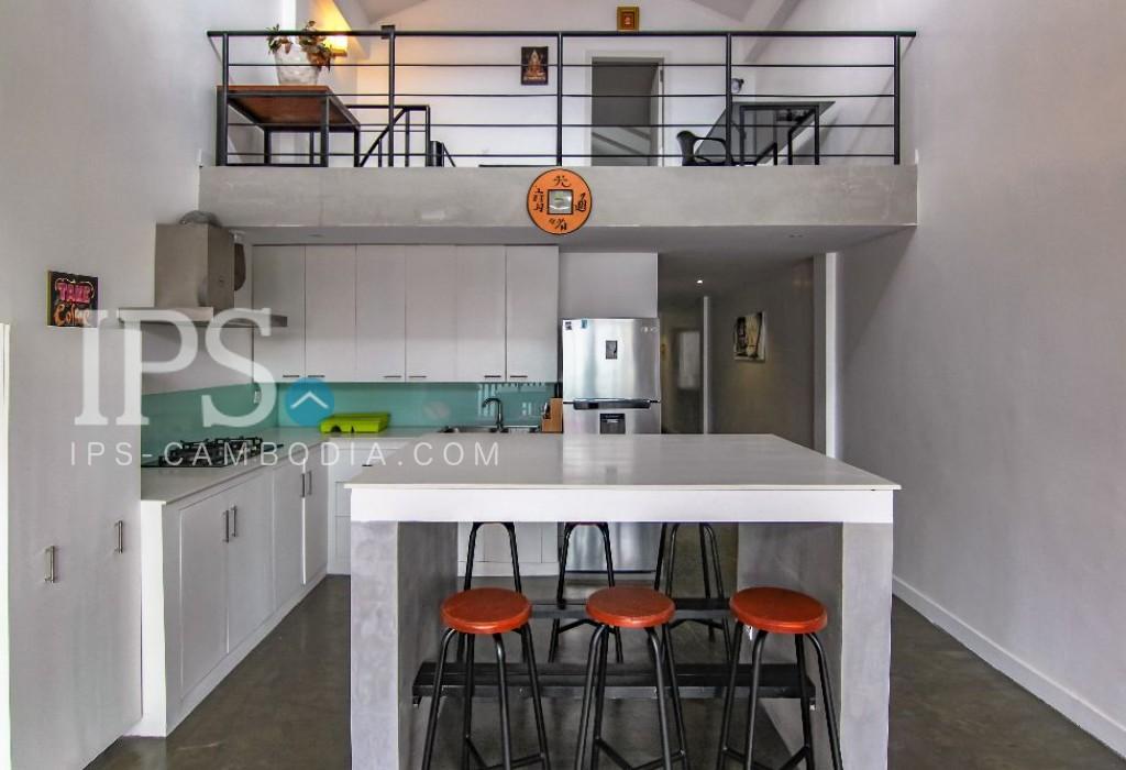 2 Bedrooms Duplex Apartment for Rent- 7 Makara