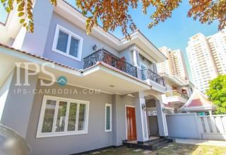 For Rent 4 Bedroom Villa - Bassac Garden City