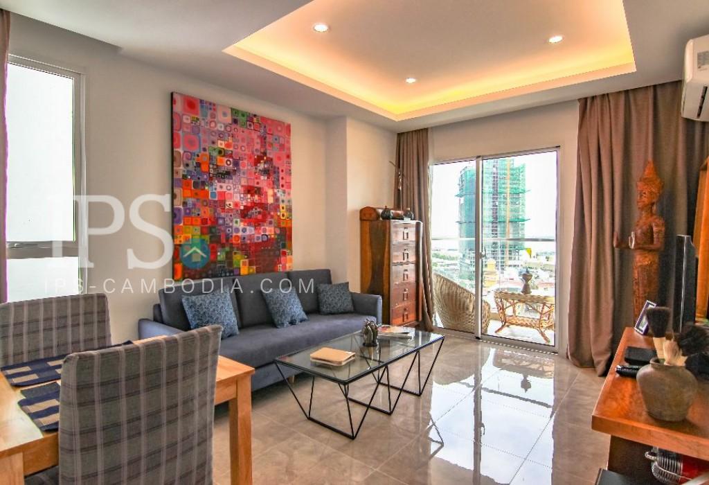 1 Bedroom Apartment For Rent - Tonle Bassac, Phnom Penh