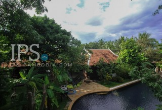 5-Bedroom Home in Garden and Pool setting For Sale - Siem Reap
