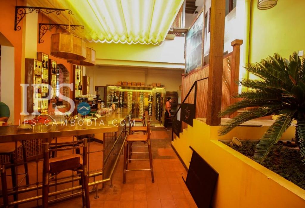 Restaurant business in prime Siem Reap  location