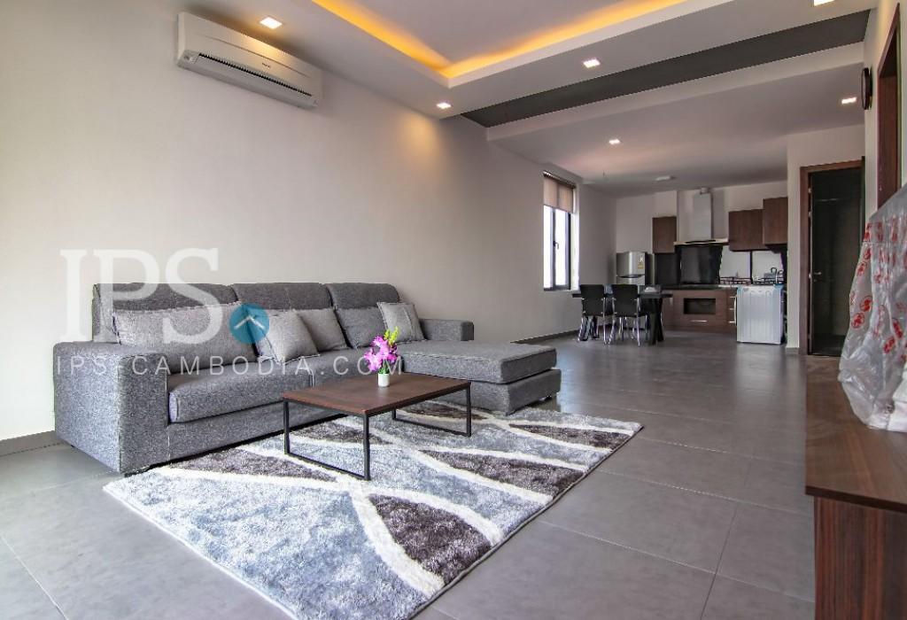 1 Bedroom Apartment For Rent - Toul Kork, Phnom Penh