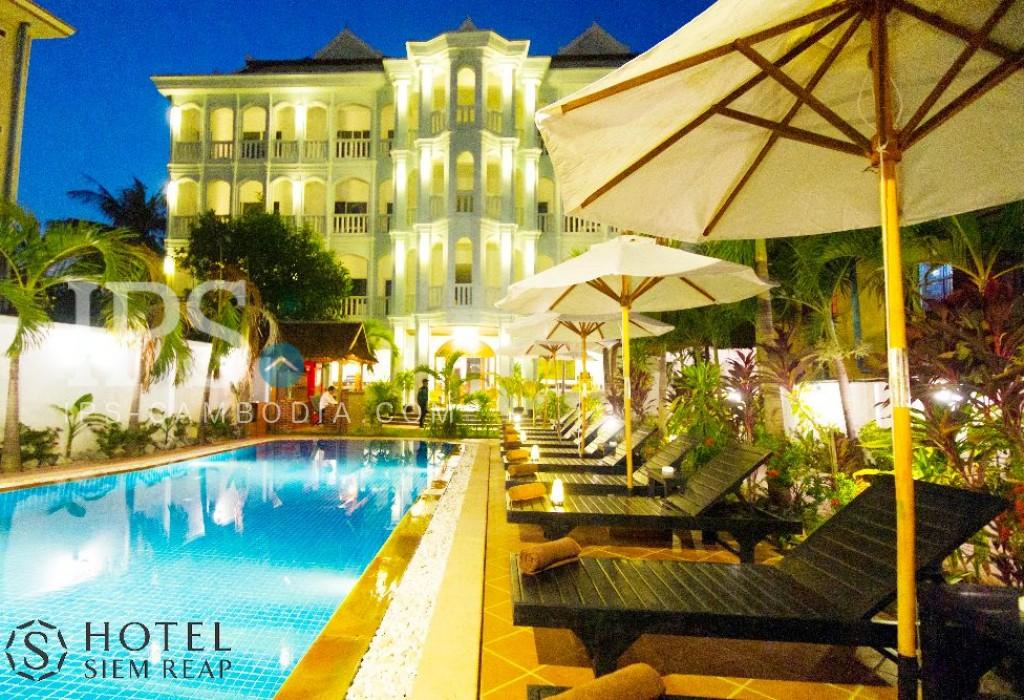 32 Rooms  Hotel Business for Sale - Steng Thmei Village Siem Reap
