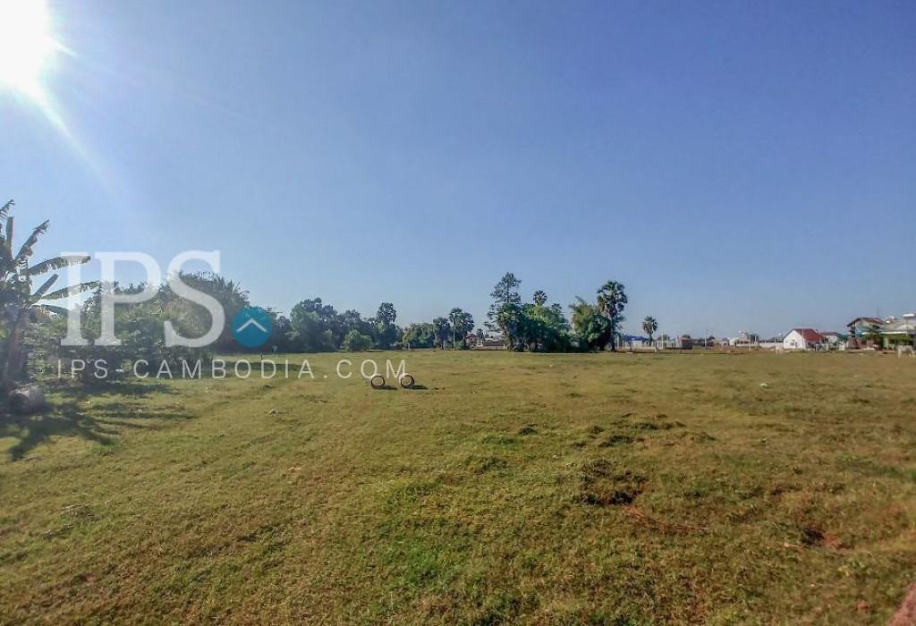 Urgent Land for Sale Siem Reap - Salakomrek Area