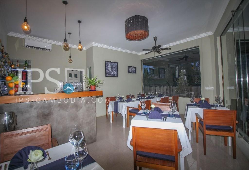 Fine dining restaurant - business for sale