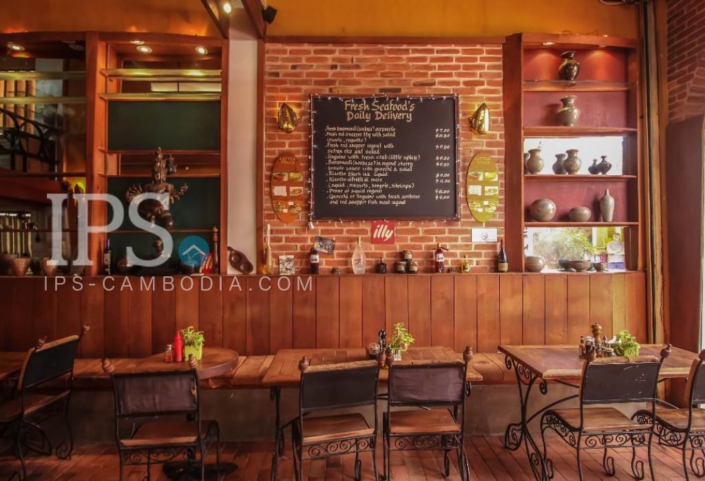 Restaurant business in Pub Street area