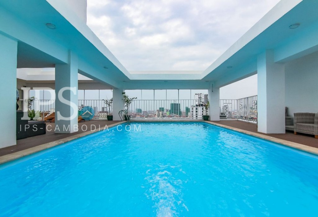 1 Bedroom Apartment For Rent - Toul Toum Pong 1, Phnom Penh