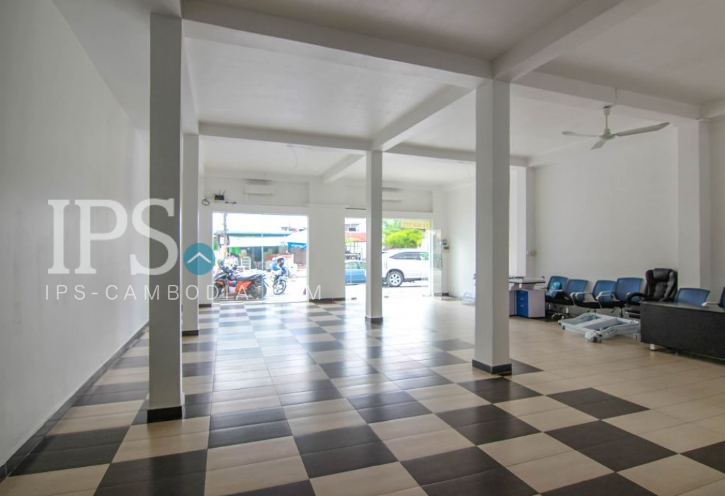 Commercial Office Space For Rent - Daun Penh Area