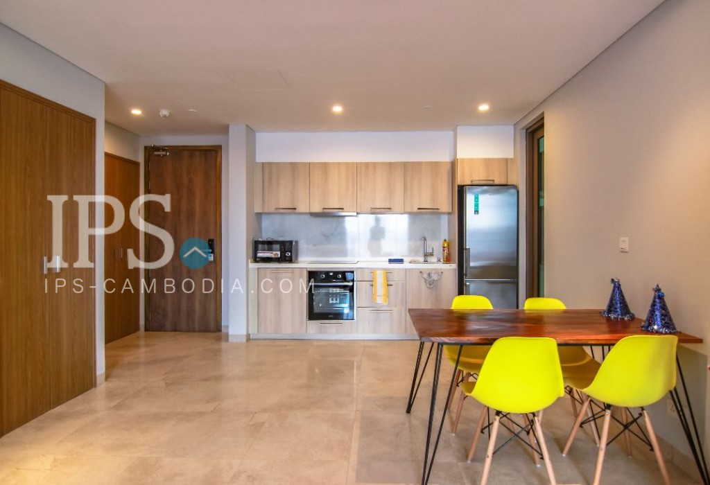 Tonle Bassac - 1 Bedroom Apartment for Rent