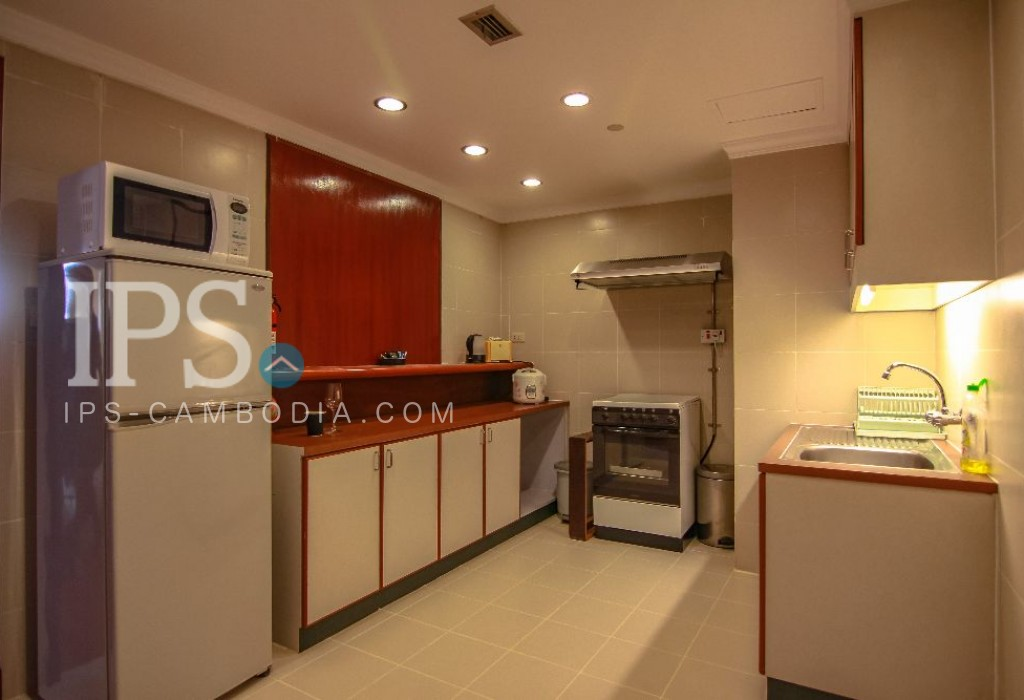 Tumnob Teuk  Apartment for Rent - 2 Bedroom + Study Room