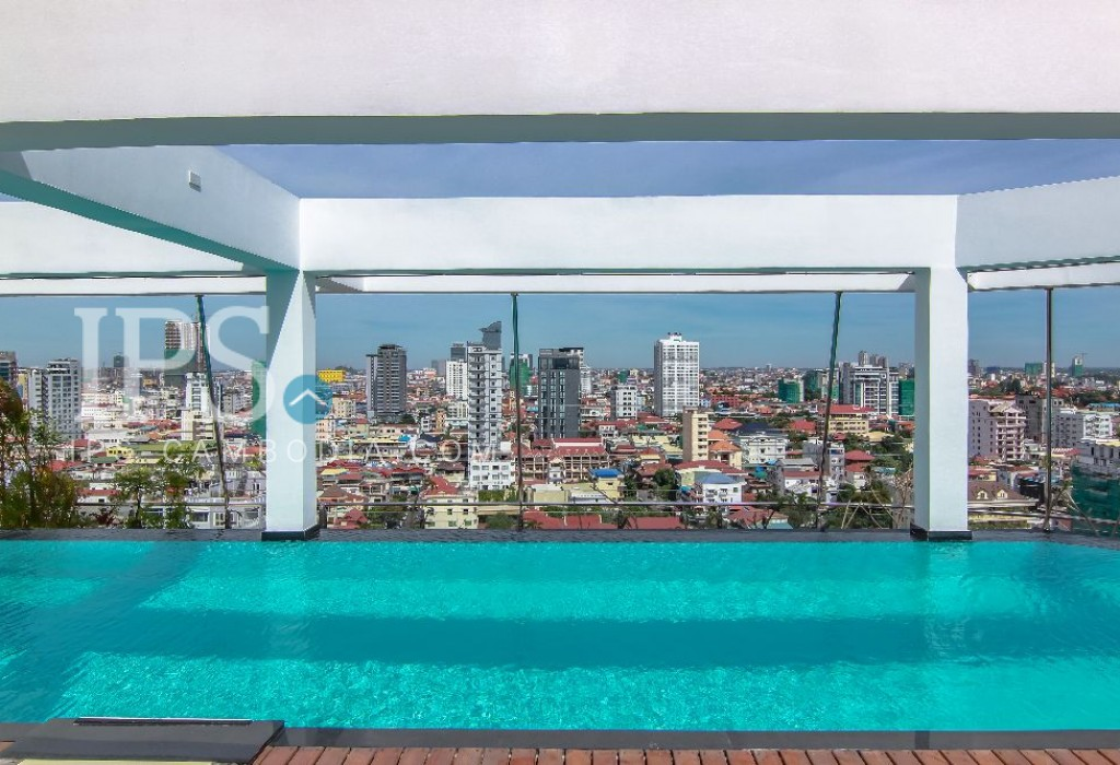 1 Bedroom Apartment For Rent- BKK1, Phnom Penh