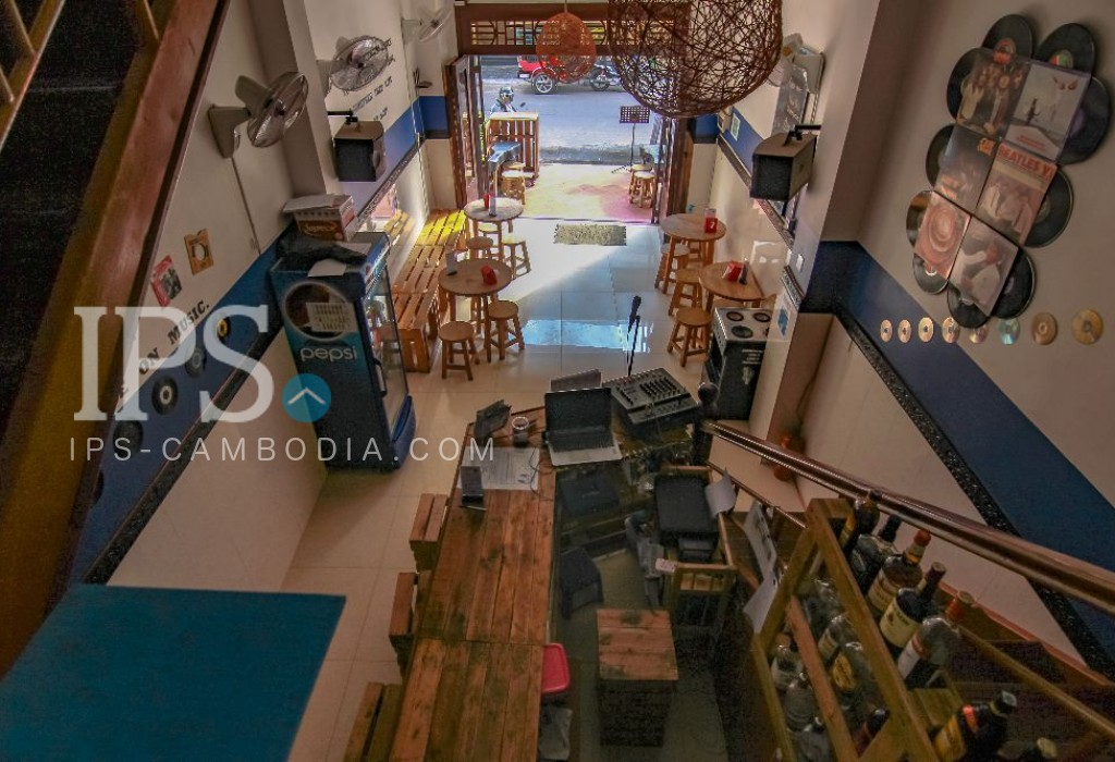 3 Floors Guesthouse Business for Sale - Tonle Bassac