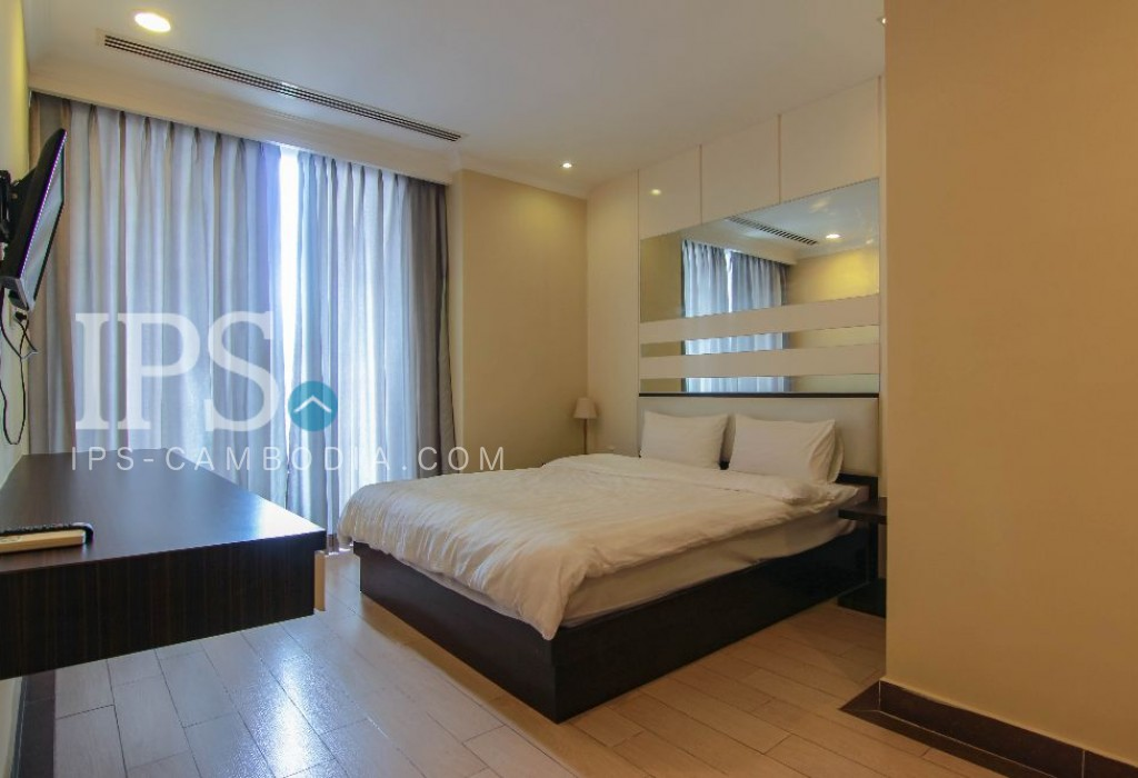 Toul Kork Serviced Apartment  For Rent - 2 Bedrooms