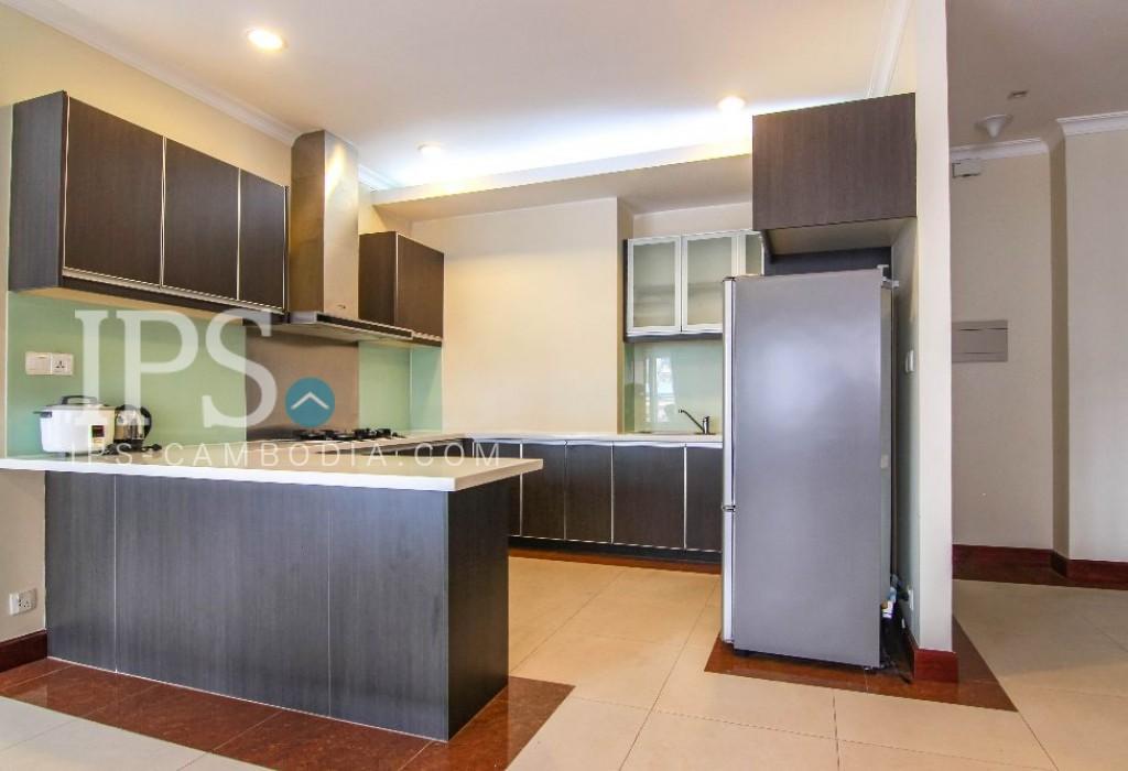 3 Bedroom Serviced Apartment Rental - Toul Kork