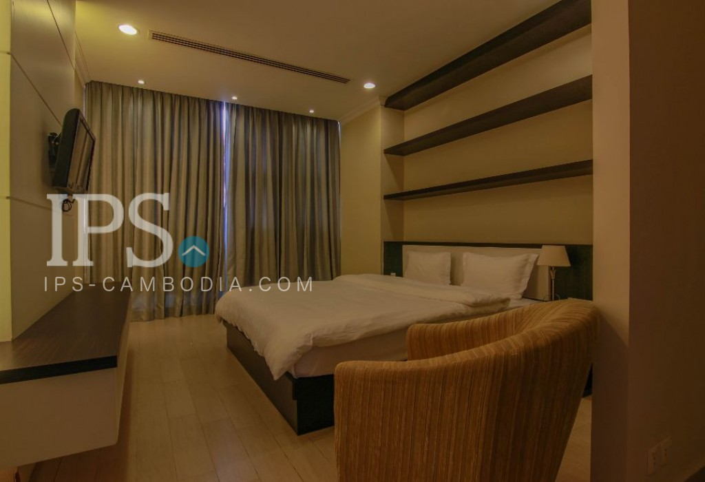 Serviced Apartment For Rent Toul Kork - 1 Bedroom