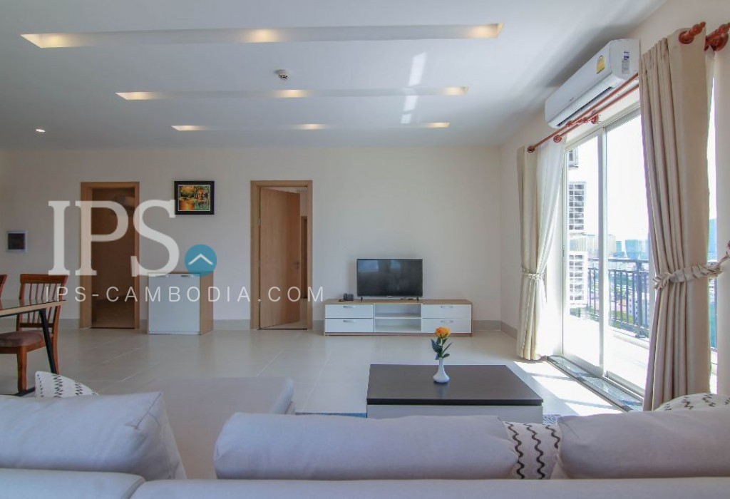 Serviced Apartment - 2 Bedrooms For Rent Daun Penh