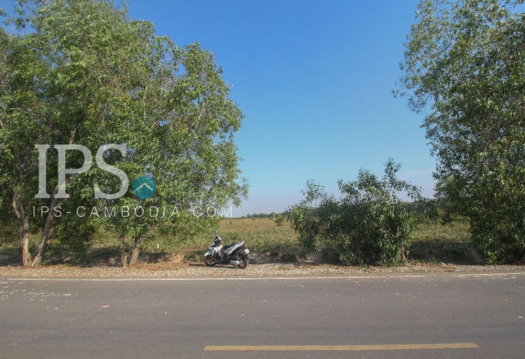 Development Land for Sale Siem Reap - 60m Road