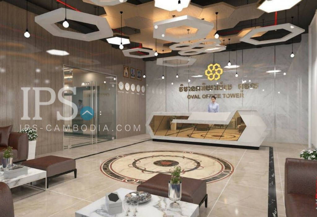 Commercial Office Space For Rent - BKK1