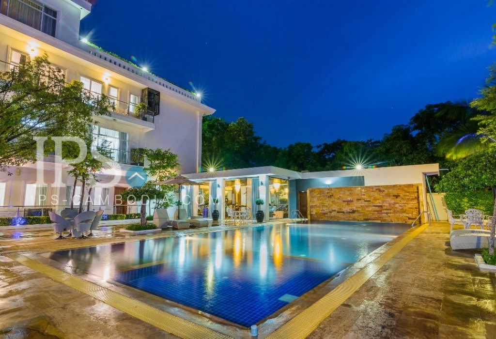 2 Bedroom Luxury Apartment For Rent - Wat Bo, Siem Reap