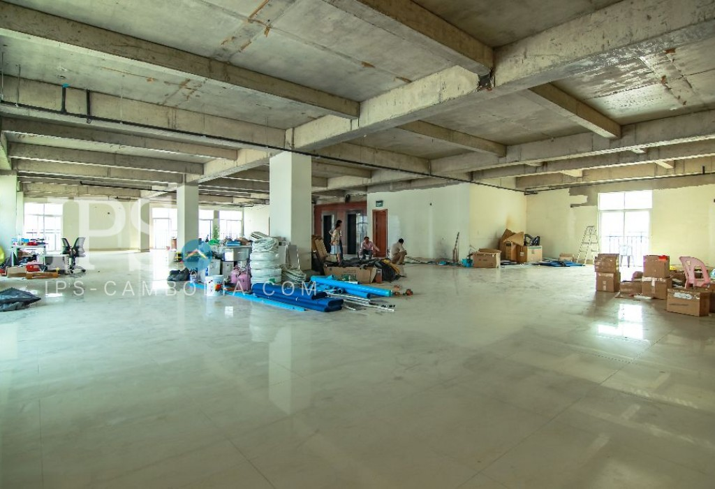 Commercial Office Space for Rent - Toul Tum Pong