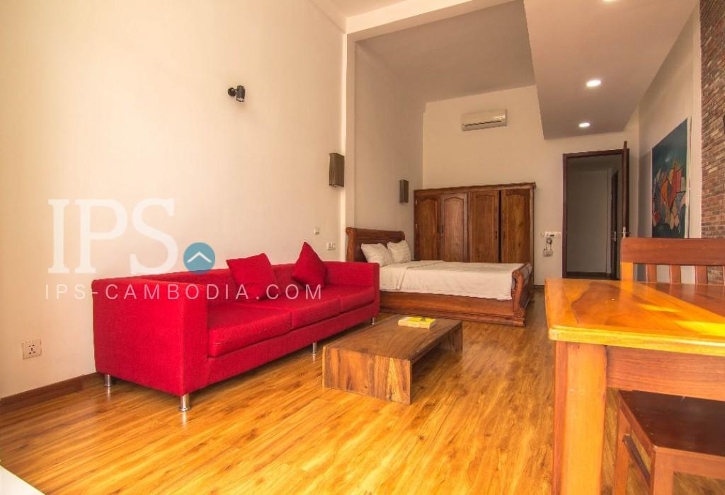 Toul Kork - Studio Apartment for Rent